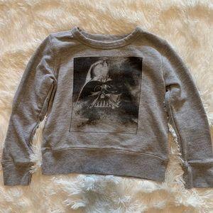 J Crew Star Wars girls sweatshirt size 4/5
